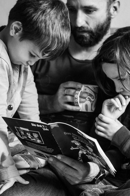Alltagsmomente in unseren dokumentarischen Familienshootings von Roar
