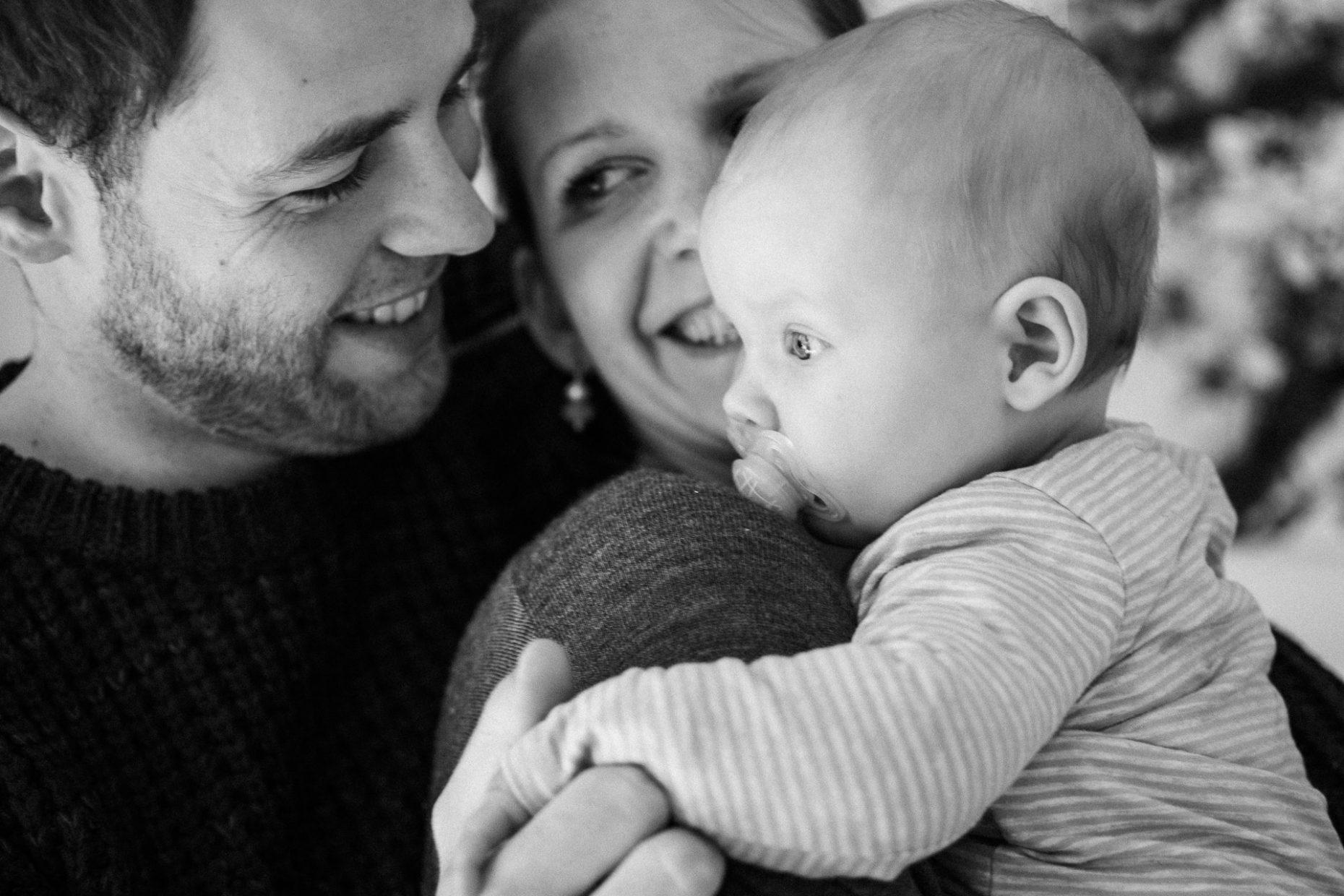 Familienshooting mit Baby in Düsseldorf